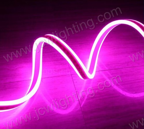 PVC led neon rope light with two side